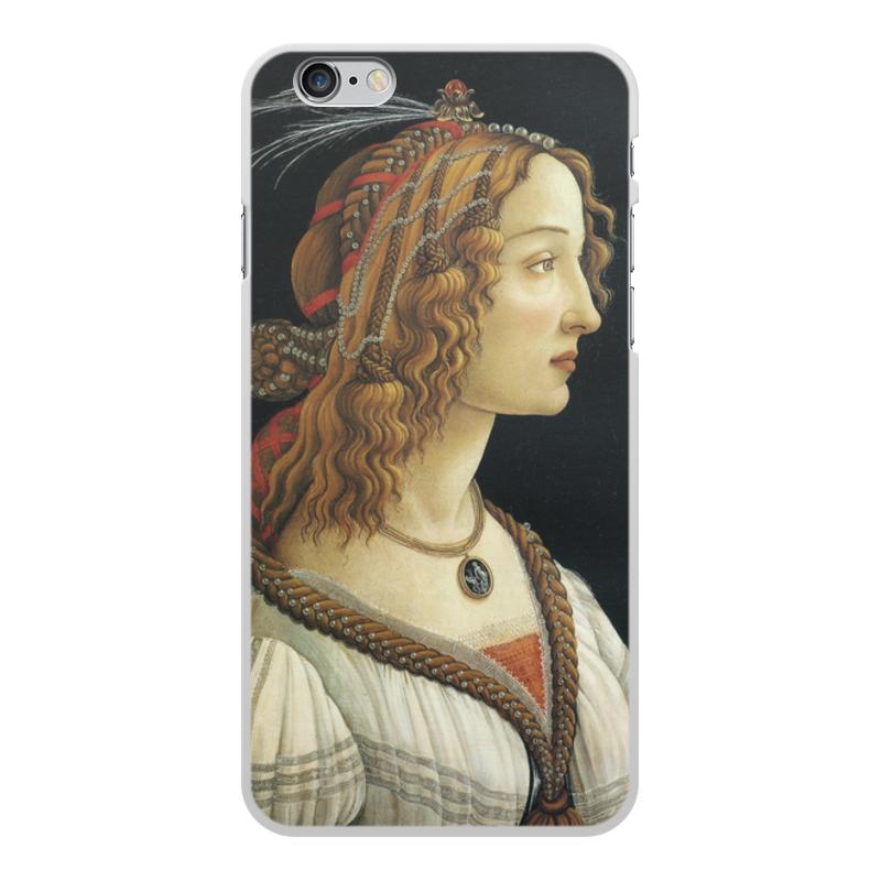 Фото - Printio Чехол для iPhone 6 Plus, объёмная печать Портрет молодой женщины (боттичелли) printio чехол для iphone x xs объёмная печать портрет молодой женщины боттичелли
