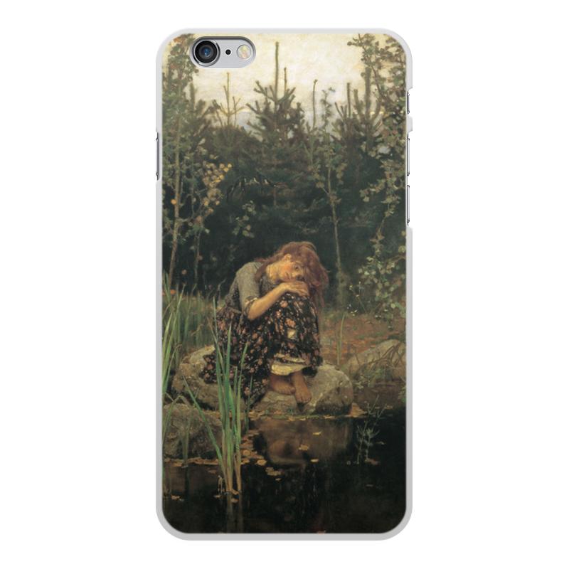Printio Чехол для iPhone 6 Plus, объёмная печать Алёнушка (картина васнецова)
