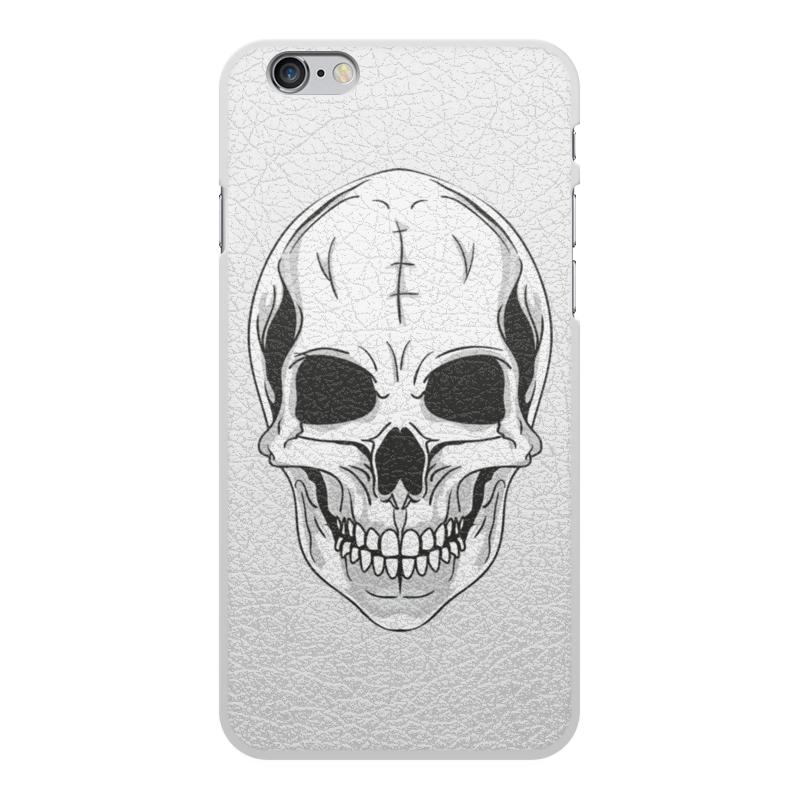 Printio Чехол для iPhone 6 Plus, объёмная печать Череп