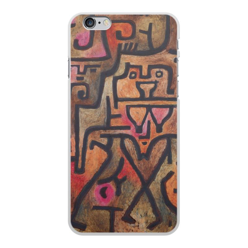 Фото - Printio Чехол для iPhone 6 Plus, объёмная печать Лесные ведьмы (пауль клее) printio чехол для iphone 8 plus объёмная печать тепло пауль клее
