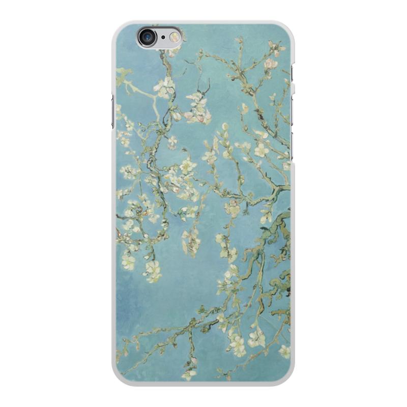 Printio Чехол для iPhone 6 Plus, объёмная печать Цветы миндаля (ван гог) printio чехол для iphone 6 plus объёмная печать куртизанка винсент ван гог