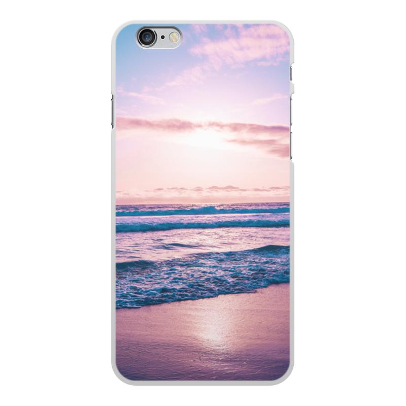 Printio Чехол для iPhone 6 Plus, объёмная печать Summer time!