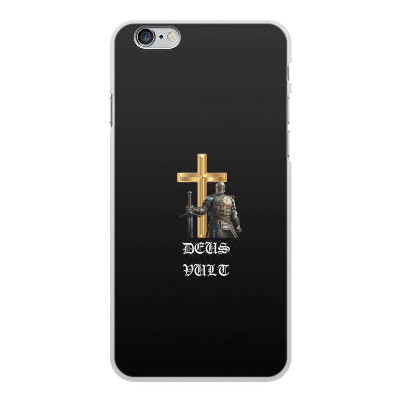 Фото - Printio Чехол для iPhone 6 Plus, объёмная печать Deus vult. крестоносцы printio чехол для samsung galaxy s8 объёмная печать deus vult крестоносцы