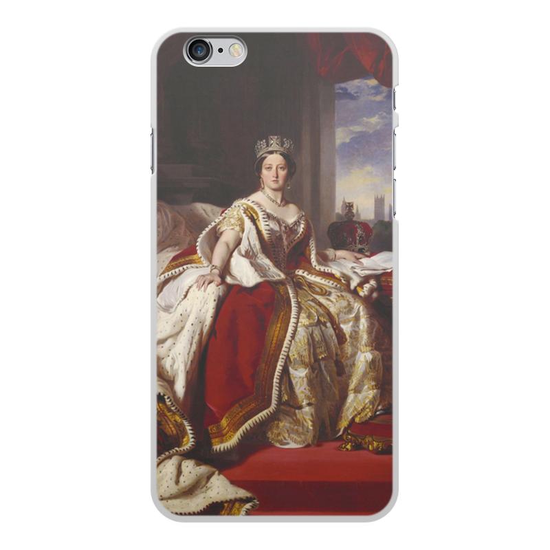 Printio Чехол для iPhone 6 Plus, объёмная печать Портрет королевы великобритании виктории