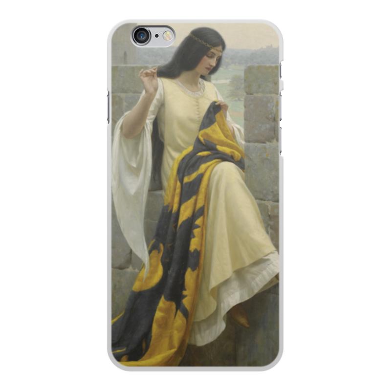 Фото - Printio Чехол для iPhone 6 Plus, объёмная печать Шитьё знамени (эдмунд блэр лейтон) printio чехол для iphone 7 plus объёмная печать сирень эдмунд блэр лейтон
