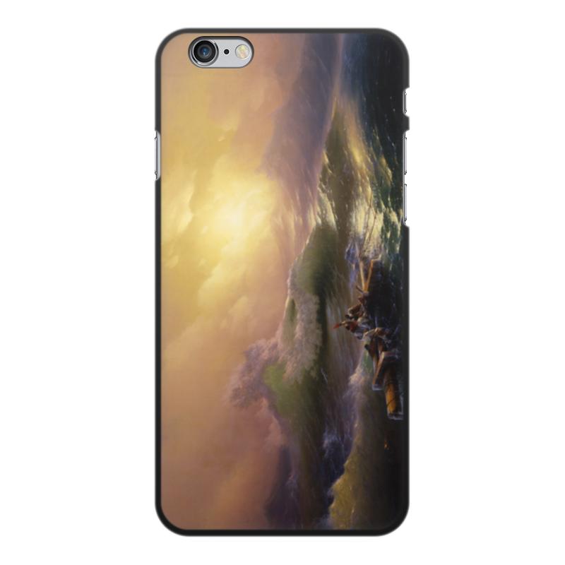 Printio Чехол для iPhone 6 Plus, объёмная печать Девятый вал (картина айвазовского)