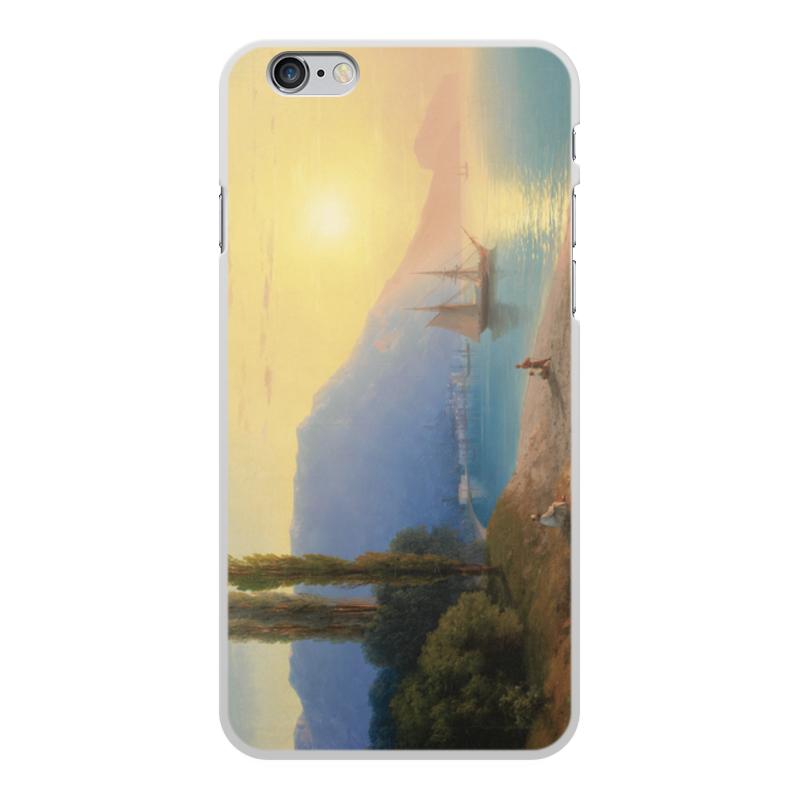 Printio Чехол для iPhone 6 Plus, объёмная печать Закат в ялте (картина айвазовского)