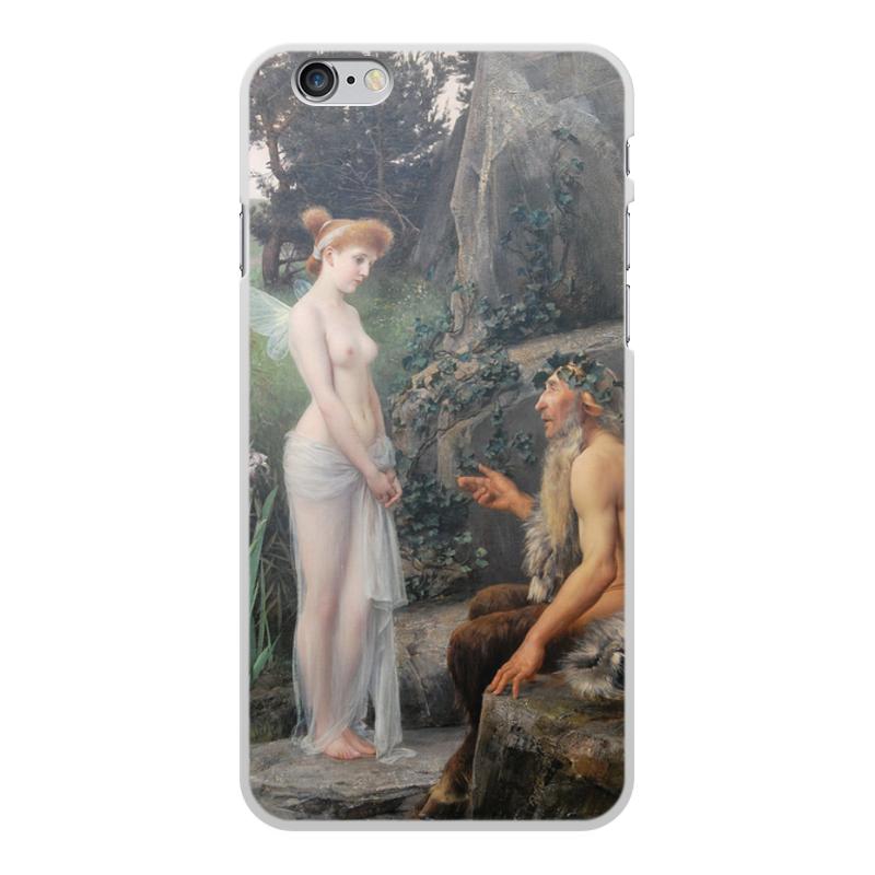 Фото - Printio Чехол для iPhone 6 Plus, объёмная печать Пан утешает психею (эрнст климт) printio чехол для iphone 7 plus объёмная печать поцелуй картина климта