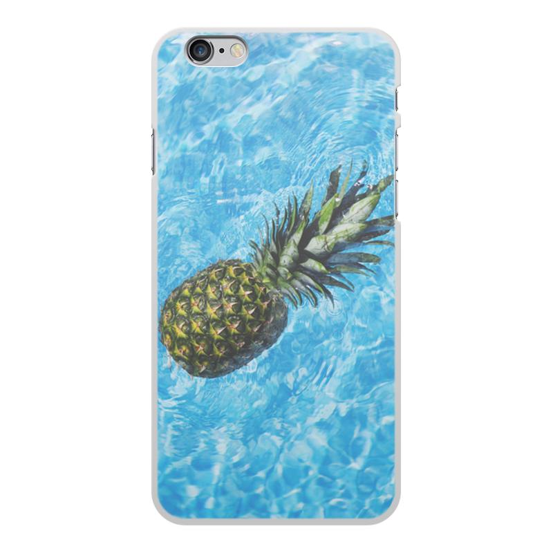 Printio Чехол для iPhone 6 Plus, объёмная печать Лето!