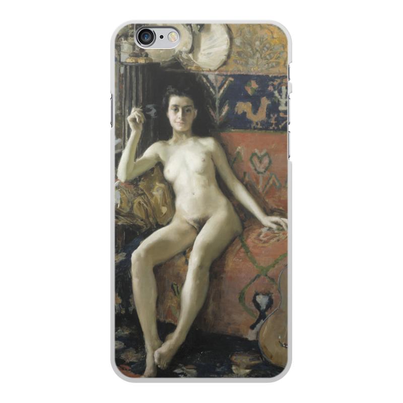 Printio Чехол для iPhone 6 Plus, объёмная печать Без маски (аксели галлен-каллела)