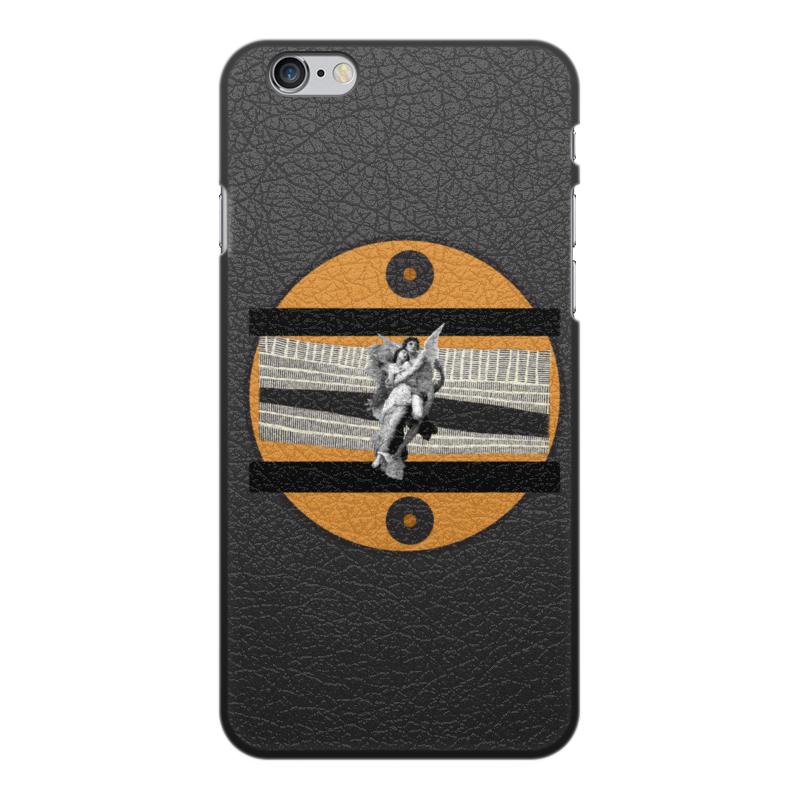 Printio Чехол для iPhone 6 Plus, объёмная печать Любовь