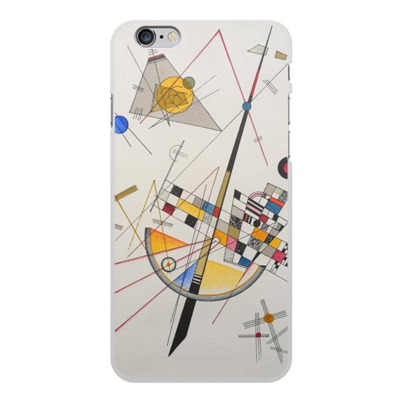 Printio Чехол для iPhone 6 Plus, объёмная печать Тонкое напряжение (василий кандинский) printio чехол для iphone 7 plus объёмная печать тонкое напряжение василий кандинский