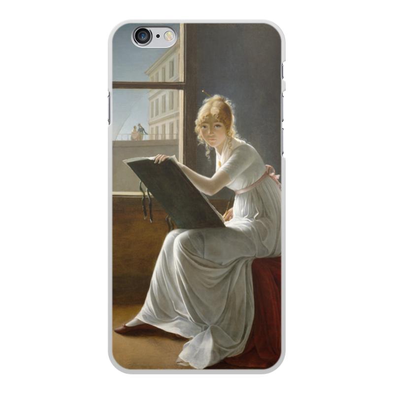 Фото - Printio Чехол для iPhone 6 Plus, объёмная печать Портрет молодой женщины (мари-дениз вильер) printio чехол для iphone x xs объёмная печать портрет молодой женщины боттичелли