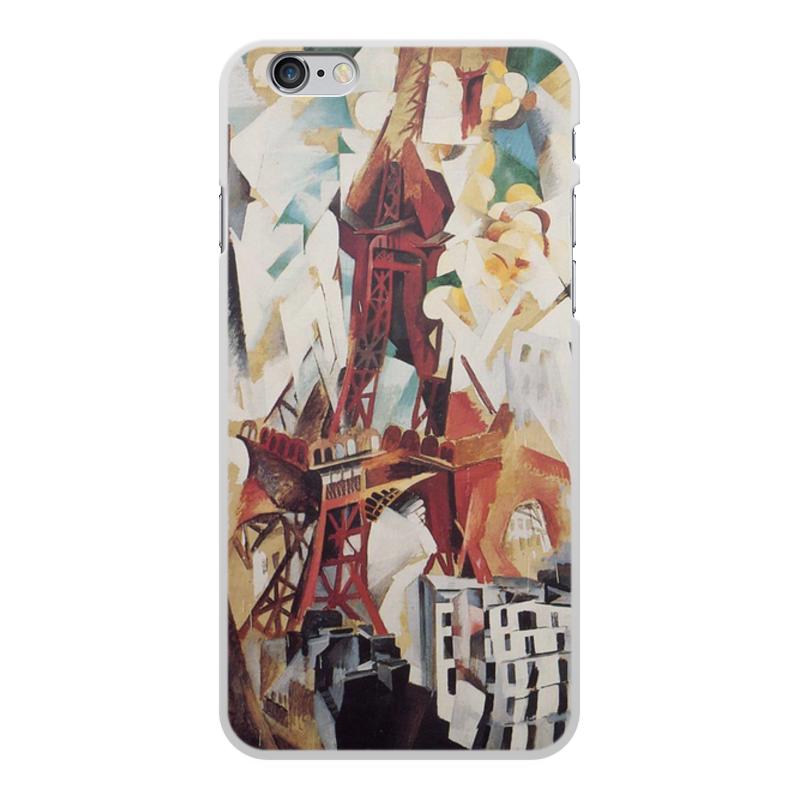 Фото - Printio Чехол для iPhone 6 Plus, объёмная печать Эйфелева башня (робер делоне) printio чехол для iphone x xs объёмная печать бесконечный ритм робер делоне