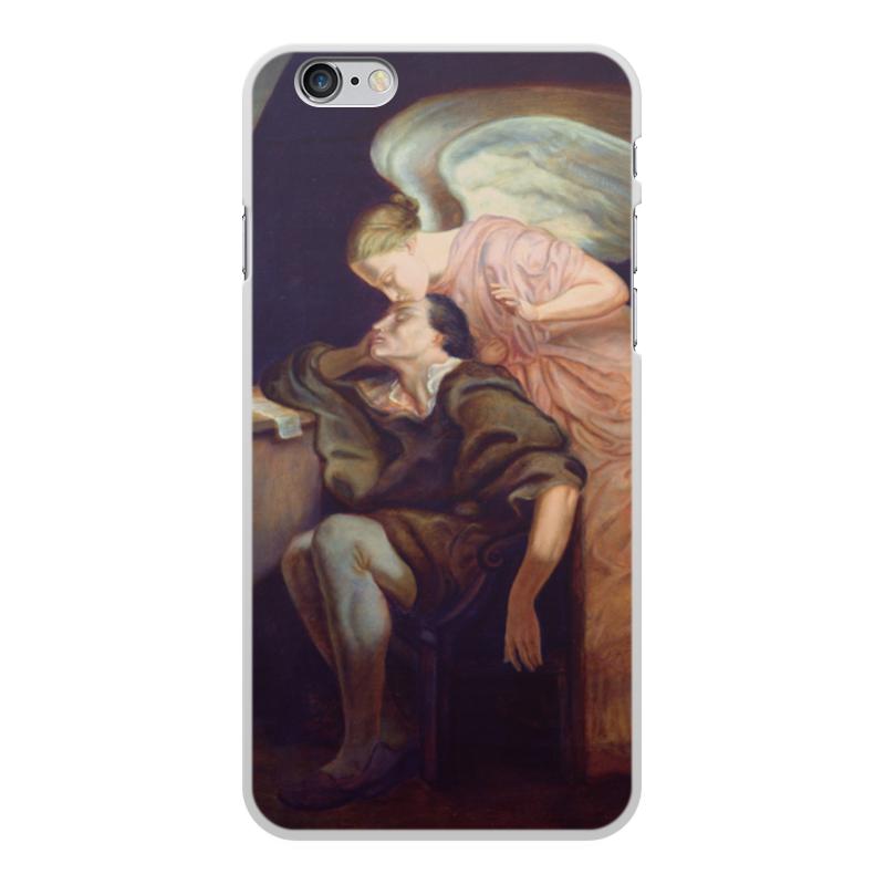 Фото - Printio Чехол для iPhone 6 Plus, объёмная печать Поцелуй музы (поль сезанн) printio чехол для iphone 7 plus объёмная печать поцелуй картина климта