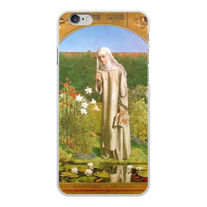 Printio Чехол для iPhone 6 Plus, объёмная печать Мысли монахини (чарльз олстон коллинз)