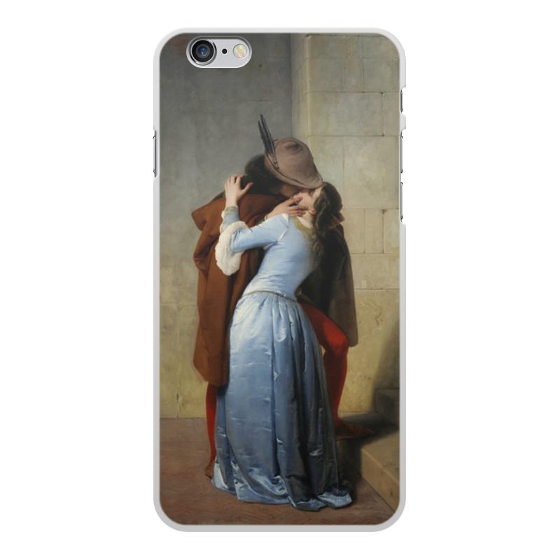 Фото - Printio Чехол для iPhone 6 Plus, объёмная печать Поцелуй (франческо айец) printio чехол для iphone 7 plus объёмная печать поцелуй картина климта