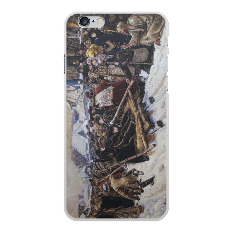 Printio Чехол для iPhone 6 Plus, объёмная печать Боярыня морозова (картина в. и. сурикова)