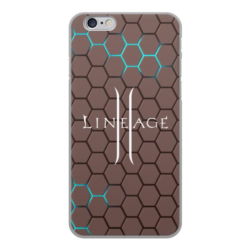 Printio Чехол для iPhone 6, объёмная печать Lineage чехол