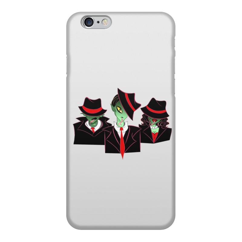 Printio Чехол для iPhone 6, объёмная печать Рептилоиды чехол