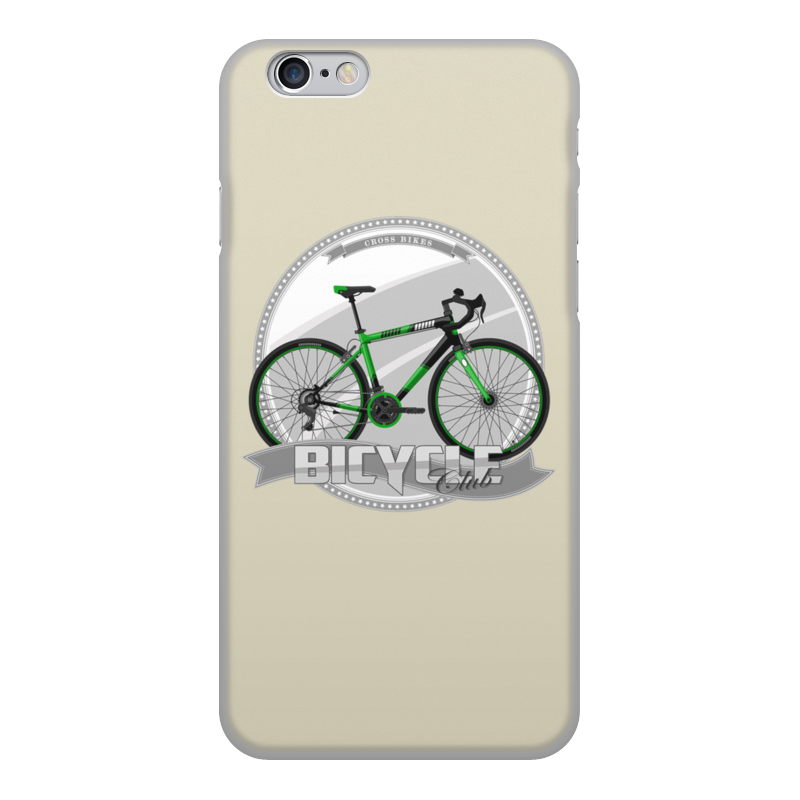 Printio Чехол для iPhone 6, объёмная печать Участник велосипедного соревнования.