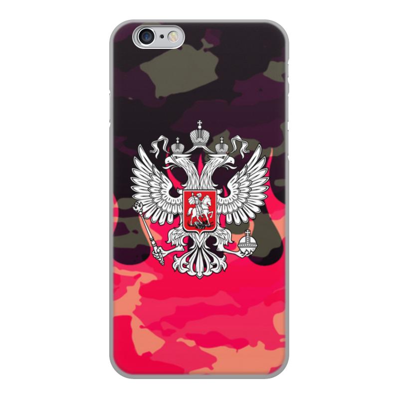 Printio Чехол для iPhone 6, объёмная печать Россия чехол