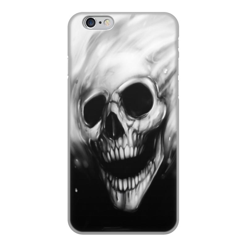 Printio Чехол для iPhone 6, объёмная печать Черепа