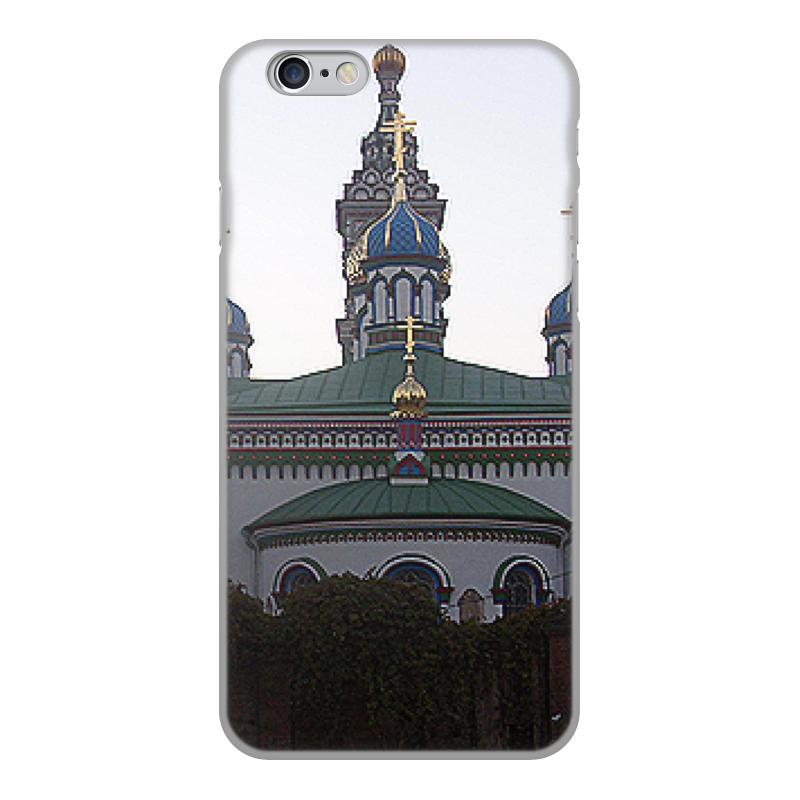 Printio Чехол для iPhone 6, объёмная печать Храм.