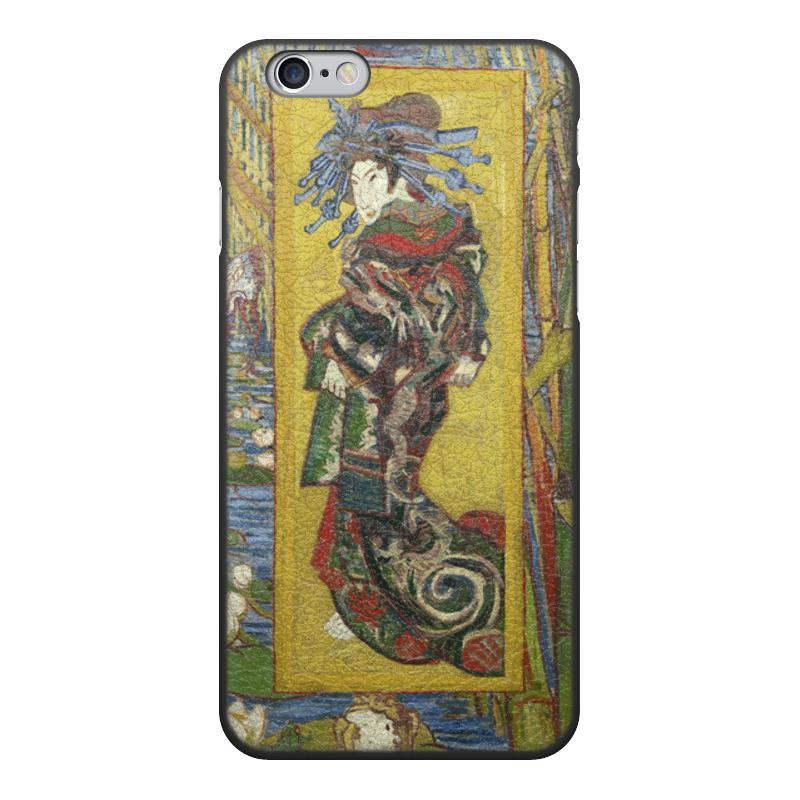 Printio Чехол для iPhone 6, объёмная печать Куртизанка (винсент ван гог) printio чехол для iphone 6 plus объёмная печать куртизанка винсент ван гог