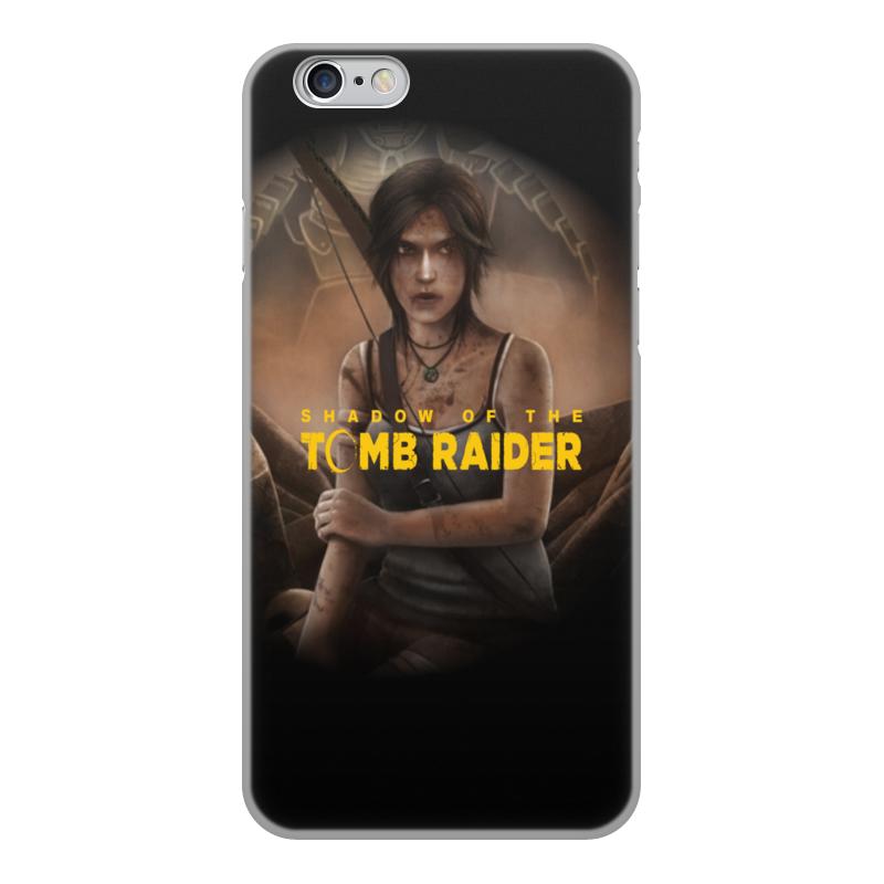 Printio Чехол для iPhone 6, объёмная печать Tomb raider чехол