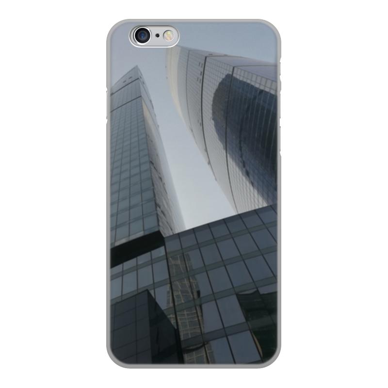 Printio Чехол для iPhone 6, объёмная печать Москва сити