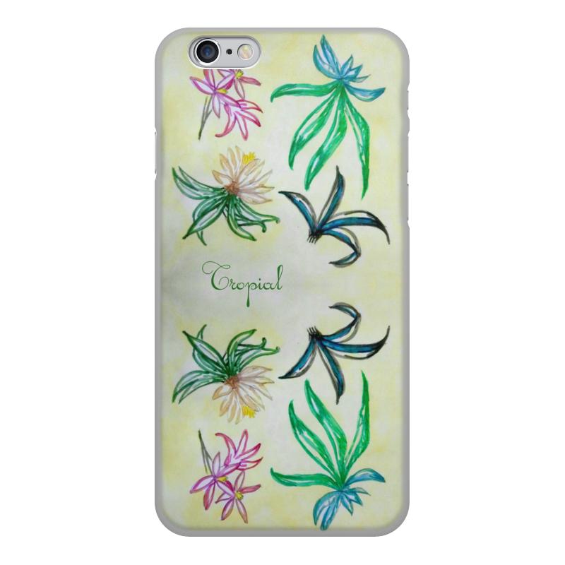 Printio Чехол для iPhone 6, объёмная печать Чехол флора чехол