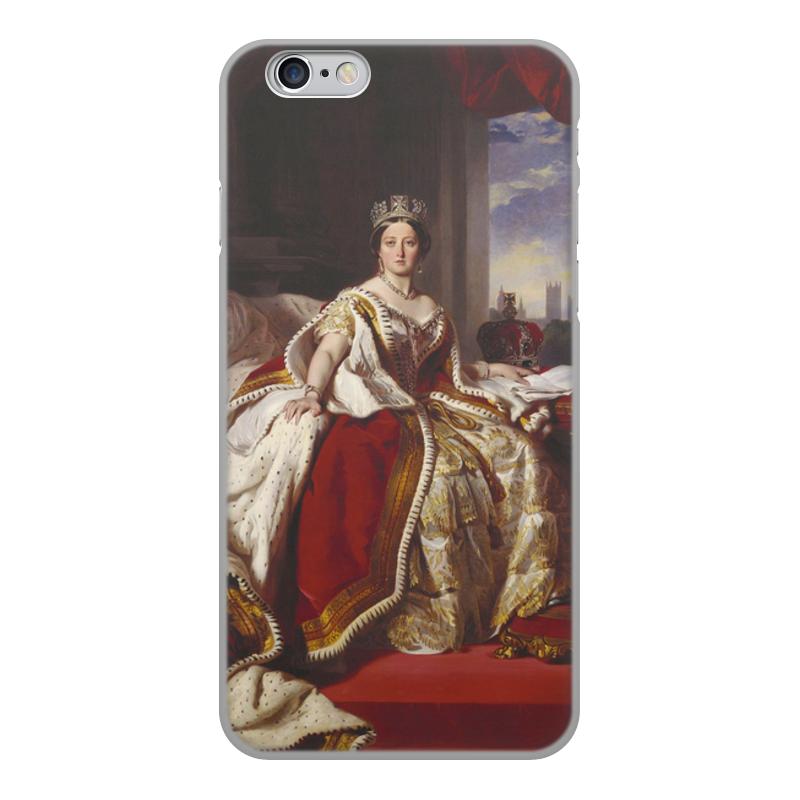 Printio Чехол для iPhone 6, объёмная печать Портрет королевы великобритании виктории