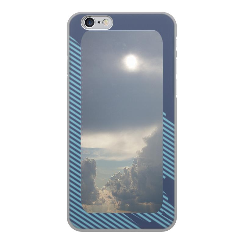 Printio Чехол для iPhone 6, объёмная печать Выше облаков! чехол