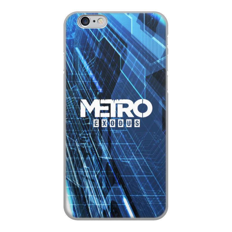 Printio Чехол для iPhone 6, объёмная печать Metro чехол