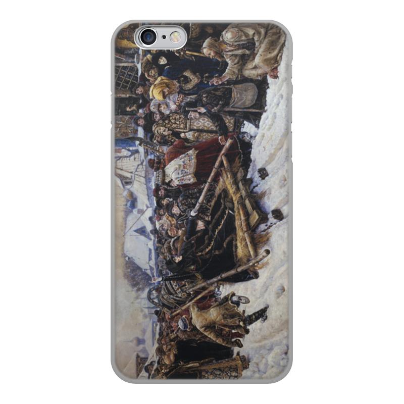 Printio Чехол для iPhone 6, объёмная печать Боярыня морозова (картина в. и. сурикова) марьяна сурикова сердце стужи