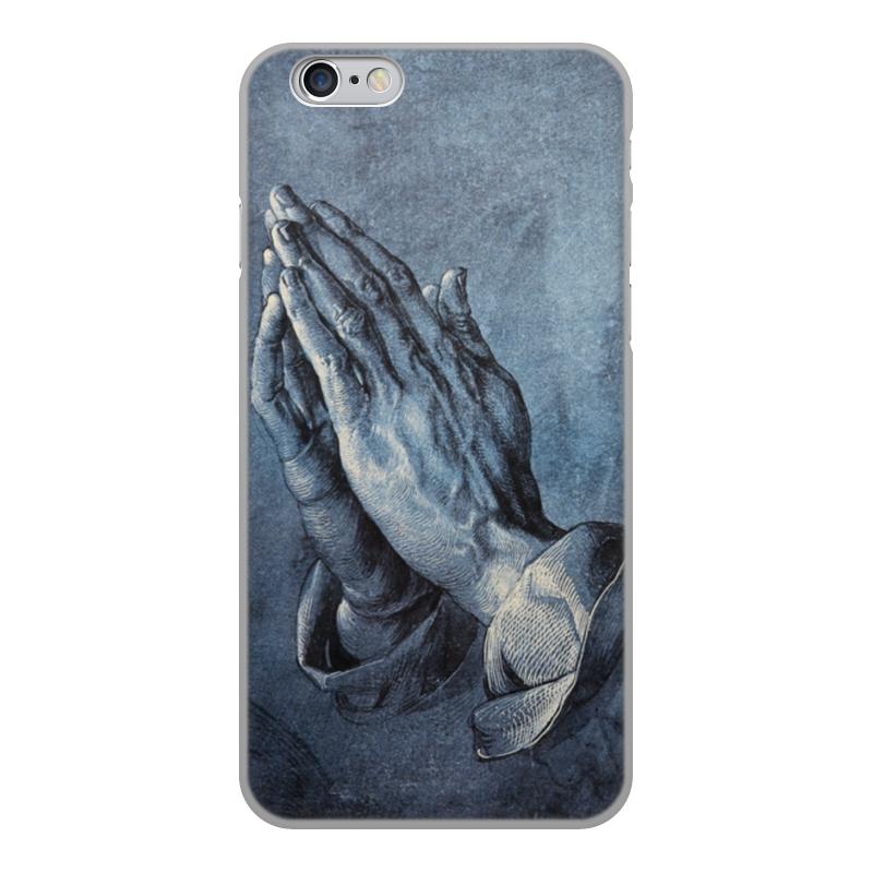 Printio Чехол для iPhone 6, объёмная печать Руки молящегося (альбрехт дюрер)