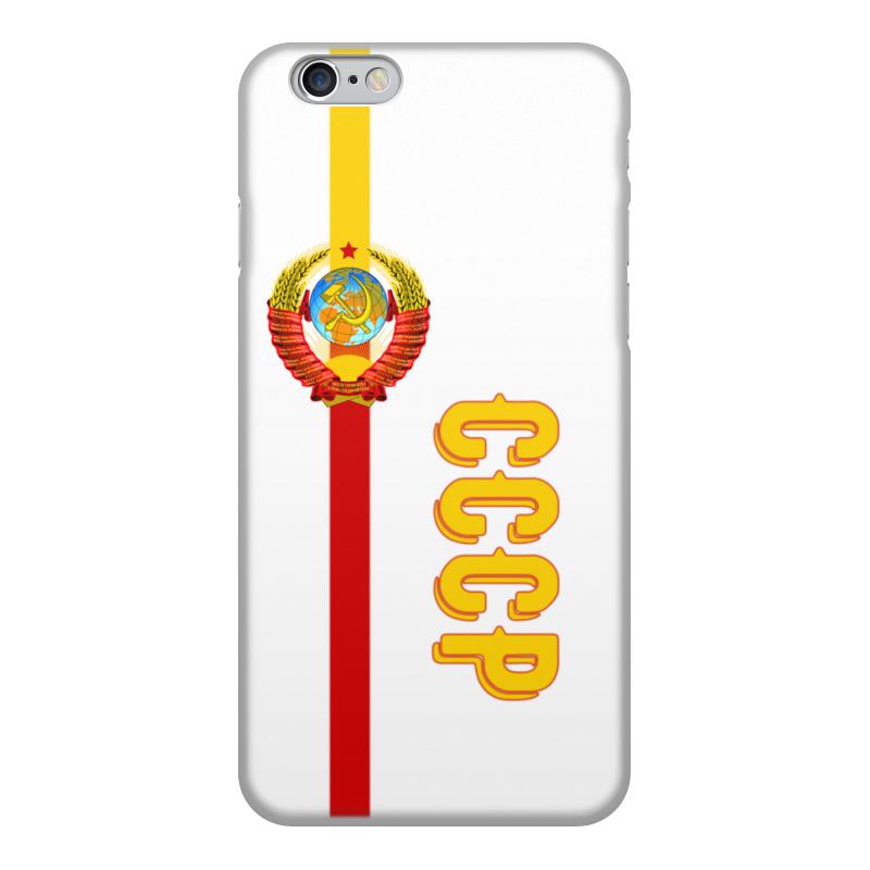 Printio Чехол для iPhone 6, объёмная печать Советский союз