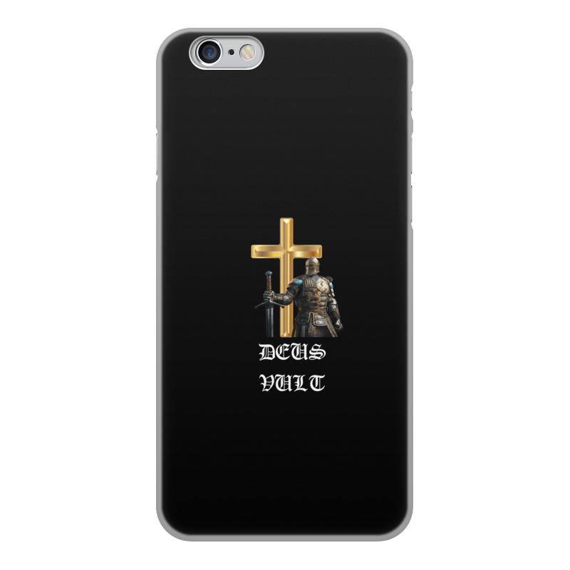 Фото - Printio Чехол для iPhone 6, объёмная печать Deus vult. крестоносцы printio чехол для samsung galaxy s8 объёмная печать deus vult крестоносцы