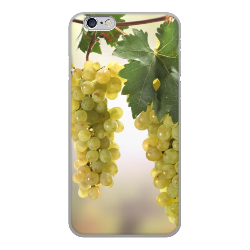 Printio Чехол для iPhone 6, объёмная печать виноград чехол