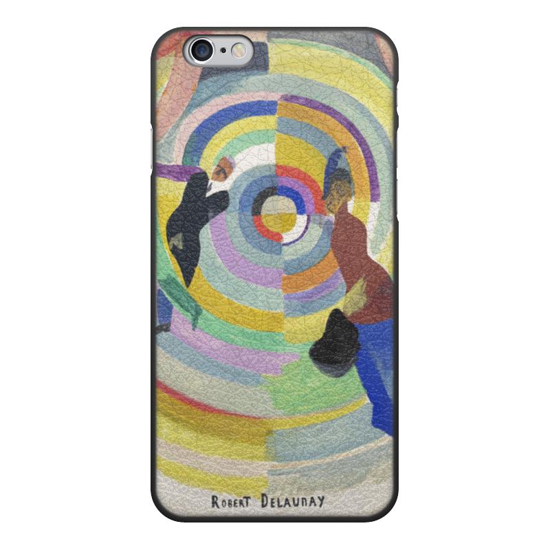 Фото - Printio Чехол для iPhone 6, объёмная печать Политическая драма (робер делоне) printio чехол для iphone x xs объёмная печать бесконечный ритм робер делоне