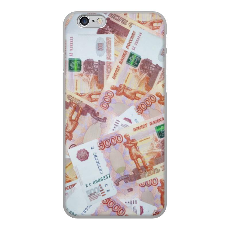 Printio Чехол для iPhone 6, объёмная печать Деньги printio чехол для iphone 6 объёмная печать unknown