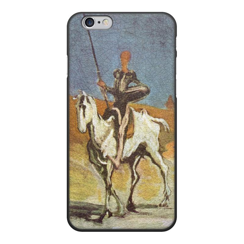 Printio Чехол для iPhone 6, объёмная печать Дон кихот (картина оноре домье) printio чехол для iphone 8 plus объёмная печать дон кихот картина оноре домье