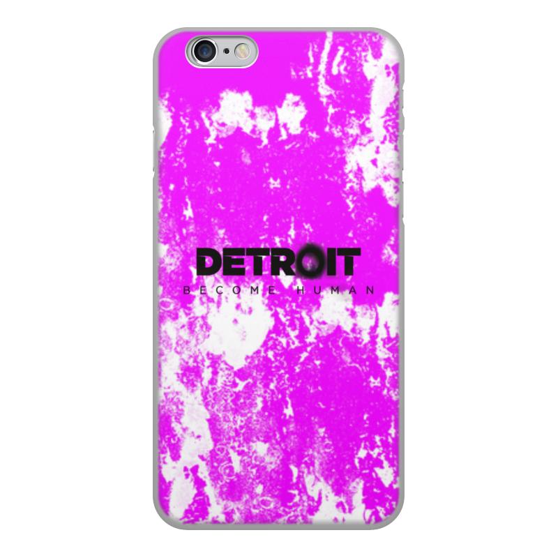 Printio Чехол для iPhone 6, объёмная печать Detroit чехол