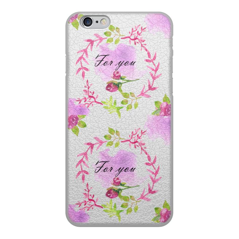 Printio Чехол для iPhone 6, объёмная печать Весна