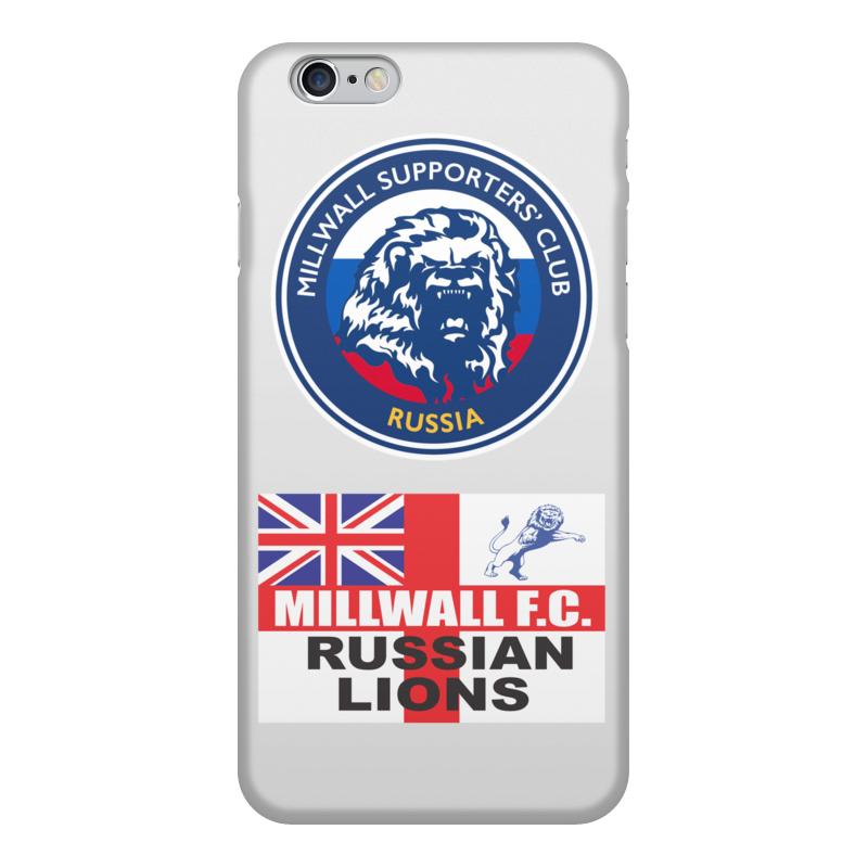 Printio Чехол для iPhone 6, объёмная печать Millwall msc russia phone cover