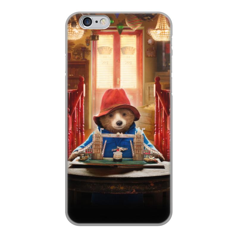 Printio Чехол для iPhone 6, объёмная печать Паддингтон чехол