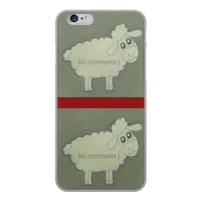 Printio Чехол для iPhone 6, объёмная печать Чехол овечка чехол