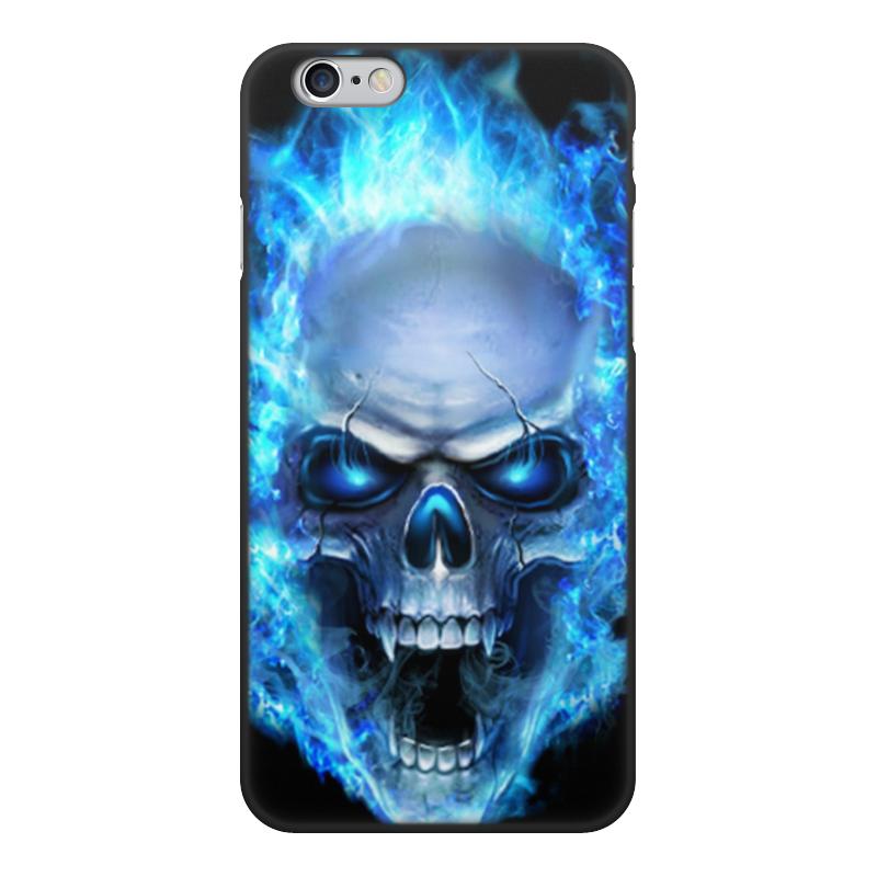 Printio Чехол для iPhone 6, объёмная печать Чехол череп чехол