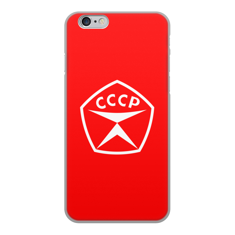 Printio Чехол для iPhone 6, объёмная печать Знак качества ссср.